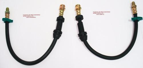 flexivel de freio marea abs ( kit 6 pçs )