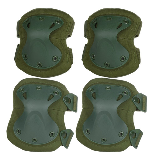 flexzion airsoft rodilleras, coderas almohadillas para or