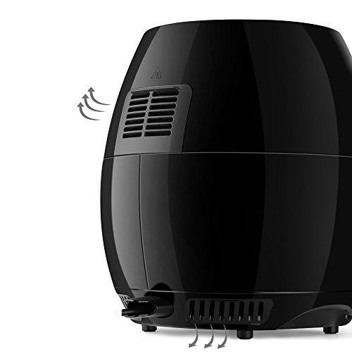 flexzion  cocina eléctrica con freidora de aire aceite salu