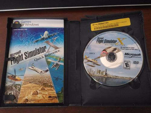 flight simulator x - deluxe edition original