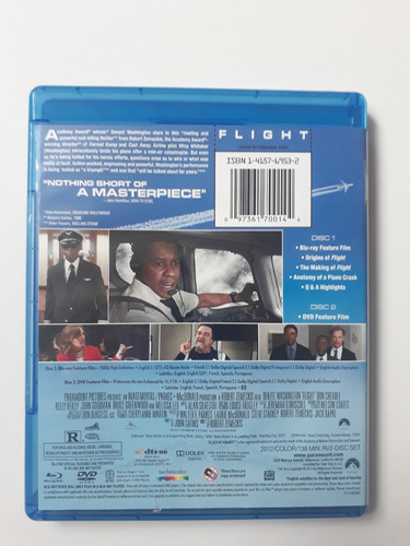 flight (two-disc combo: blu-ray / dvd)