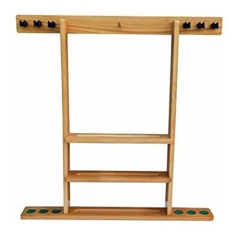 flintar wall cue rack, elegante soporte de billar de pool de