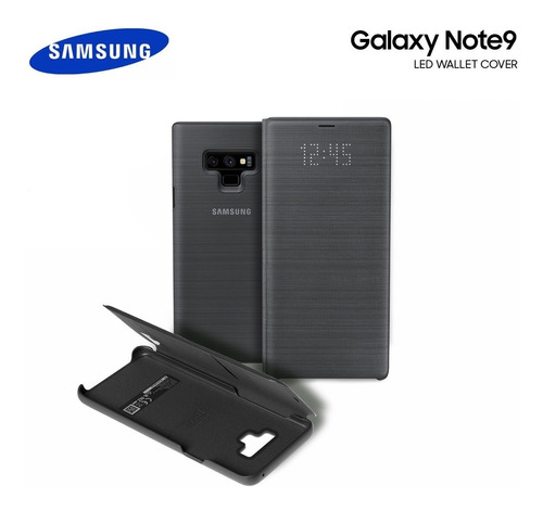 flip case led view cover galaxy note 9 en stock!!