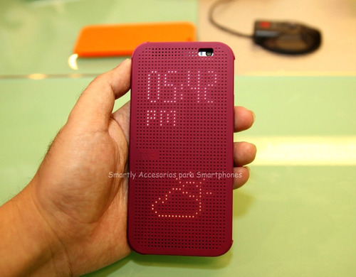 flip cover dot view original htc one m8