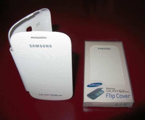 flip cover estuche samsung s3 i9300,  excelente