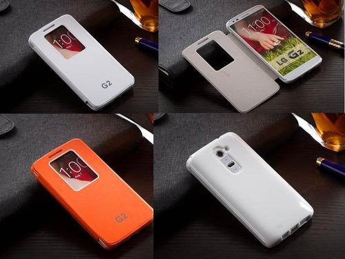 flip cover para lg g2 producto exclusivo de la marca oferta