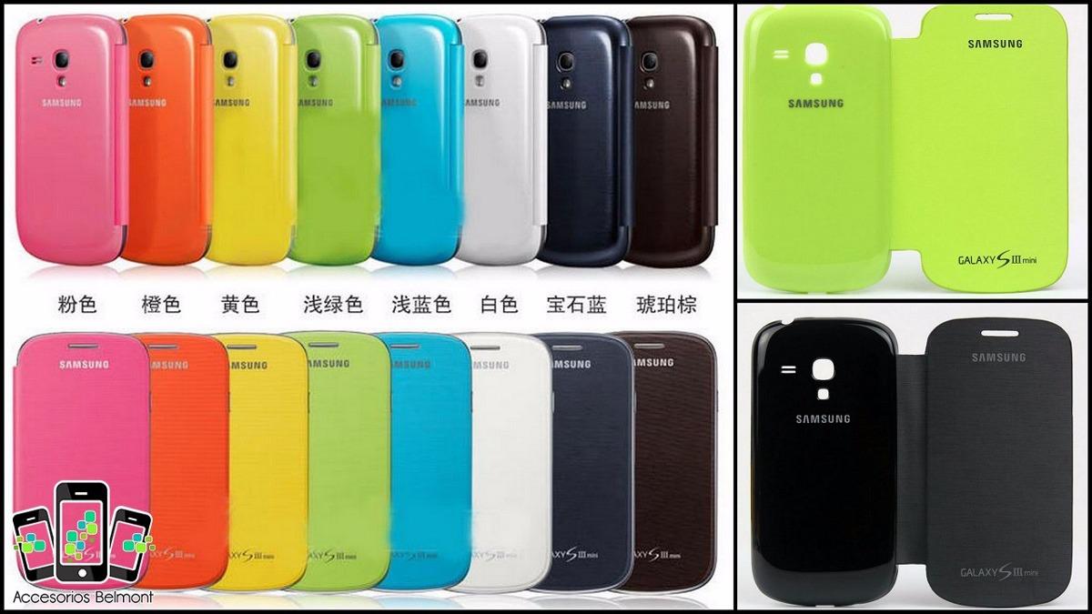Flip cover para samsung galaxy s3 mini gti8190 en mercado libre - Samsung s3 mini fundas ...