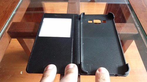 flip cover s-view samsung galaxy a3