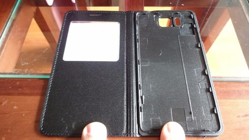 flip cover s-view samsung galaxy alpha g850