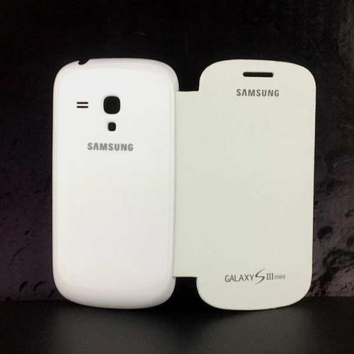 flip cover samsung galaxy s3 mini i8190 case + 2 regalos