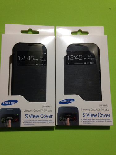 flip cover samsung s4 mini inteligente agenda case original
