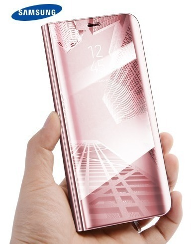 new arrival b8e88 2a819 Flip Cover Sensor / Case Samsung Galaxy J8 2018 - Rosado