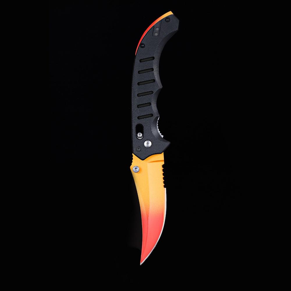 Flip Knife Fade Upgraded Csgo Real Frete Grátis Csgo