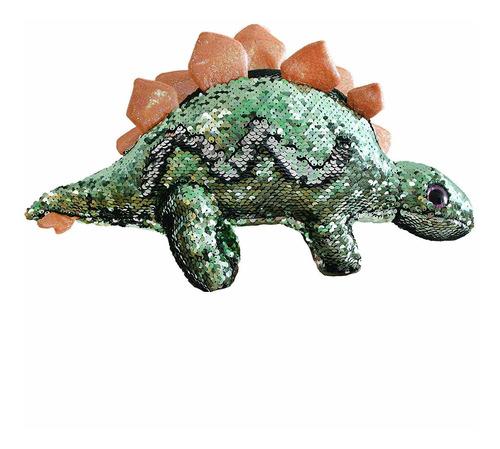 flip lentejuela relleno dinosaurio peluche juguete spar...