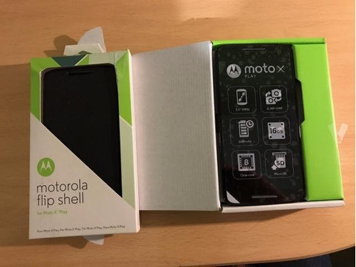 flip shell motorola original moto x play