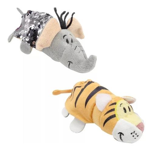 flipazoo peluche 2en1 convert gato jirafa unicornio +modelos