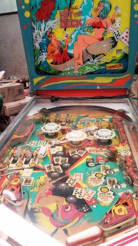 flipeer pinbal  hit deck   1978