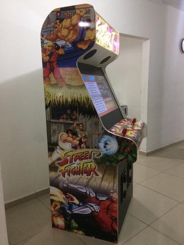 fliperama 32 smart - 41374 jogos + subwoolf + led malvadeza