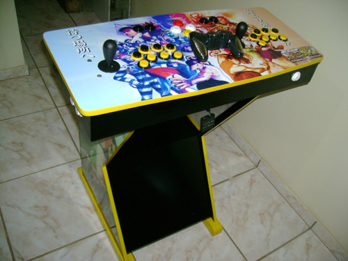 fliperama - mesa multijogos com sistema retrobox 2!