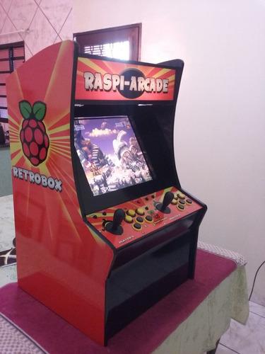 fliperama - mini máquina multijogos com mais de 4000 jogos.