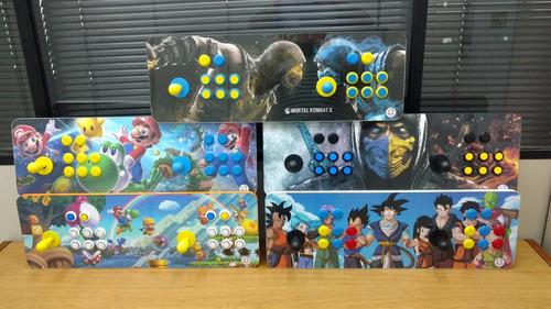 fliperama portátil arcade sensor óptico +d 13 mil jogos 64gb