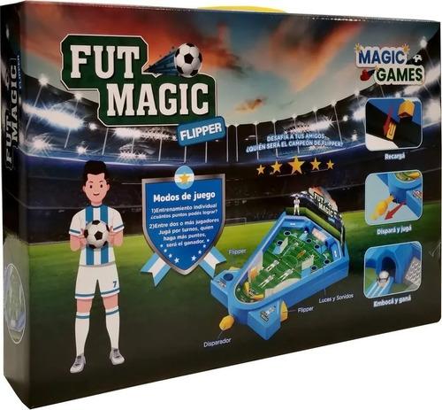 flipper fut magic metegol luces sonidos futmagic jlt ik0033