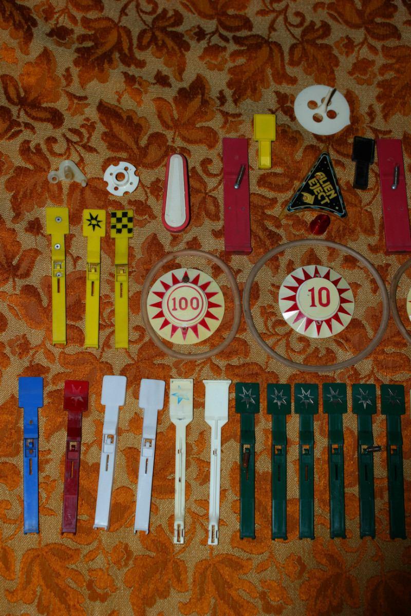 Flippers repuestos partes piezas originales en for Pateres originales