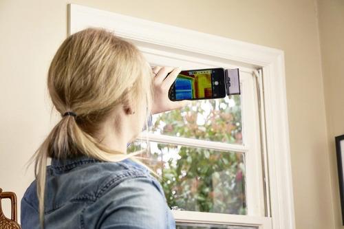 flir one 3ª geração câmera térmica para android (usb c)