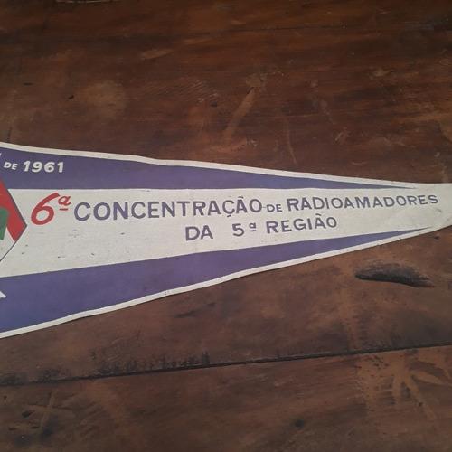 flâmula antiga 6 concentração de radioamadores 1961