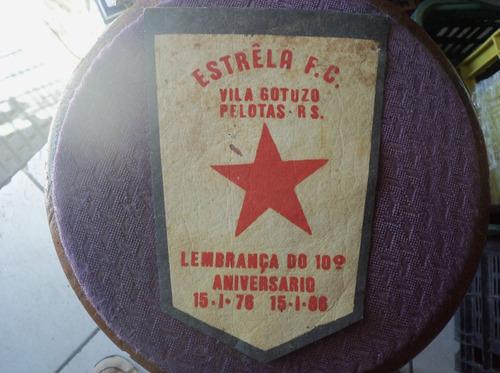 flâmula estrela f c vila gotuzo pelotas 1986