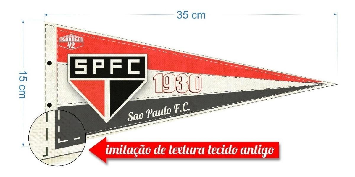 b1db20e870 Flâmula Vintage Do São Paulo Futebol Clube - R$ 59,90 em Mercado Livre