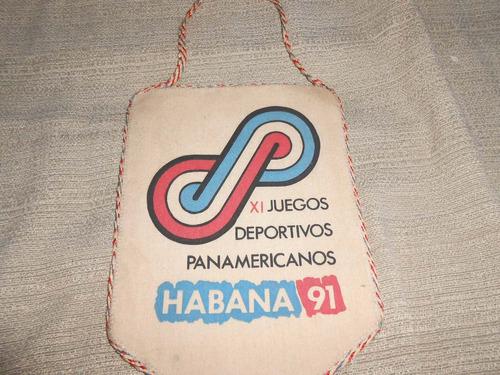 flâmula xi juegos deposrtivos panamericanos habana 91