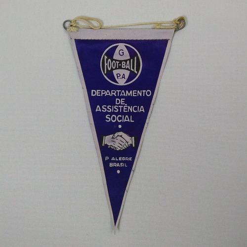 flâmulas antigas - departamento assist. social grêmio