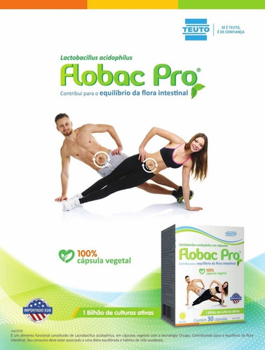 flobac pro 55mg com 30 comprimidos