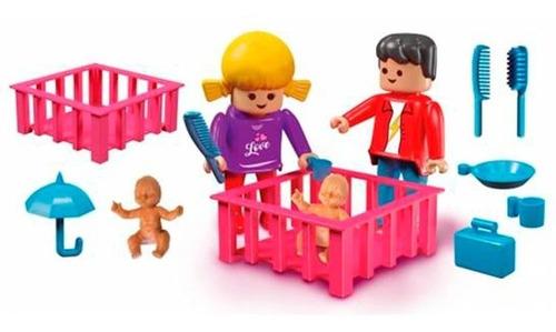 flokys la familia mama papa y el bebe bloques rasti en cadia