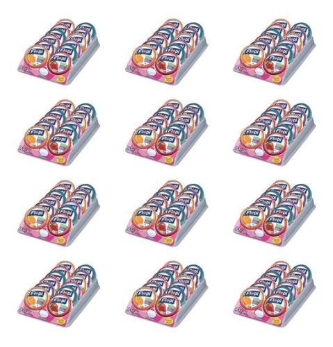 flopi mista bala lata s/ açúcar 12x40g (kit c/12)