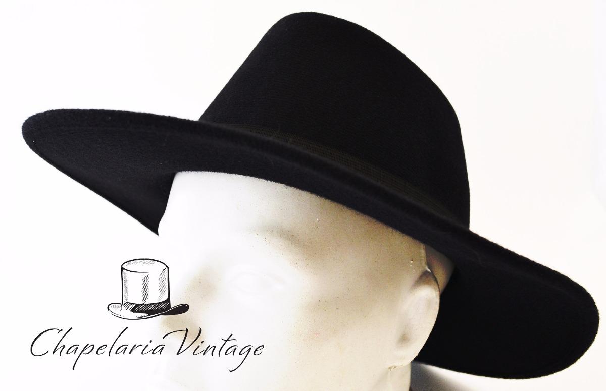 Carregando zoom... chapéu floppy fedora preto feminino masculino ... 7bacd075596