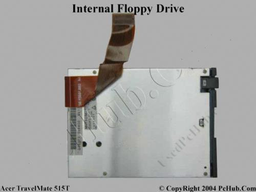floppy notebook travelmate 512dx pn:d353f3