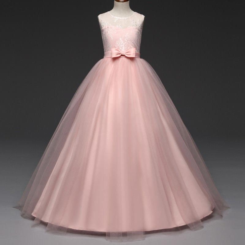 Flor Chica Princesa Vestido De Fiesta... (13-14t, P.) - $ 29.990 en ...