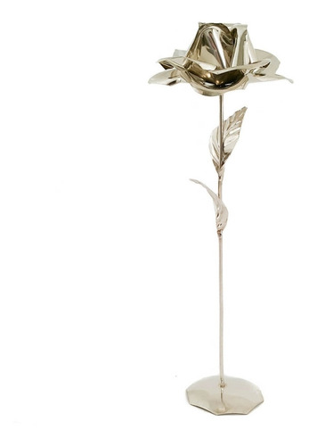 flor de alpaca con base por unidad decoracion