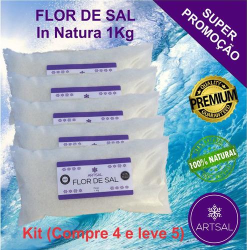 flor de sal artsal (compre 4kg e leve 5kg)