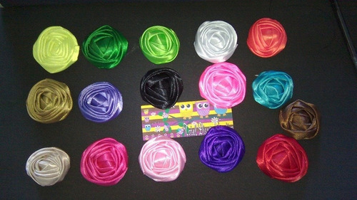 flor de tela o cinta capullo