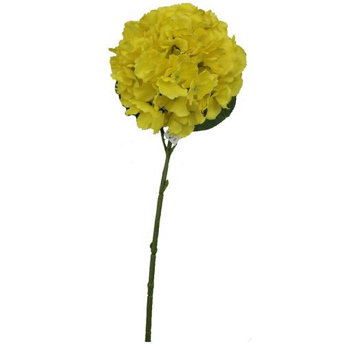 flor decorativa tela verde alambre decoracion bm home