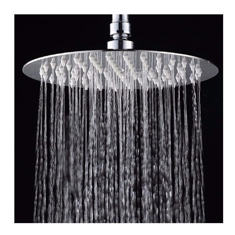 flor ducha baño duchon 20cm redonda floron acero inoxidable