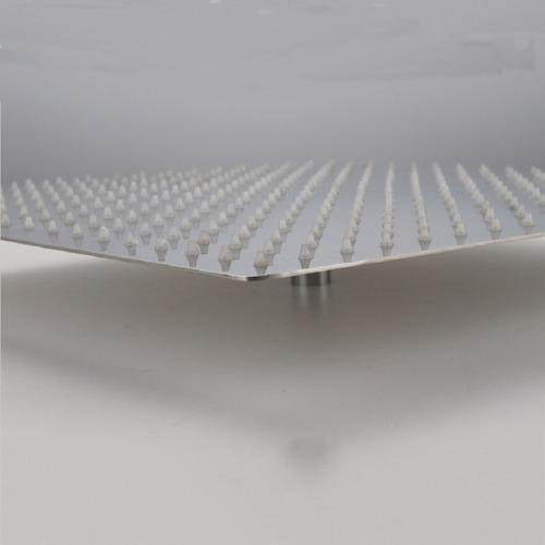 flor ducha cuadrada 40x40cm ultra fina (sin brazo) 40 x 40