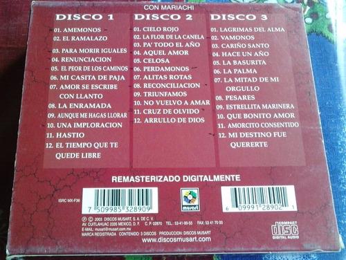 flor silvestre coleccion de oro boxset de 3 cds ed 2003 au1