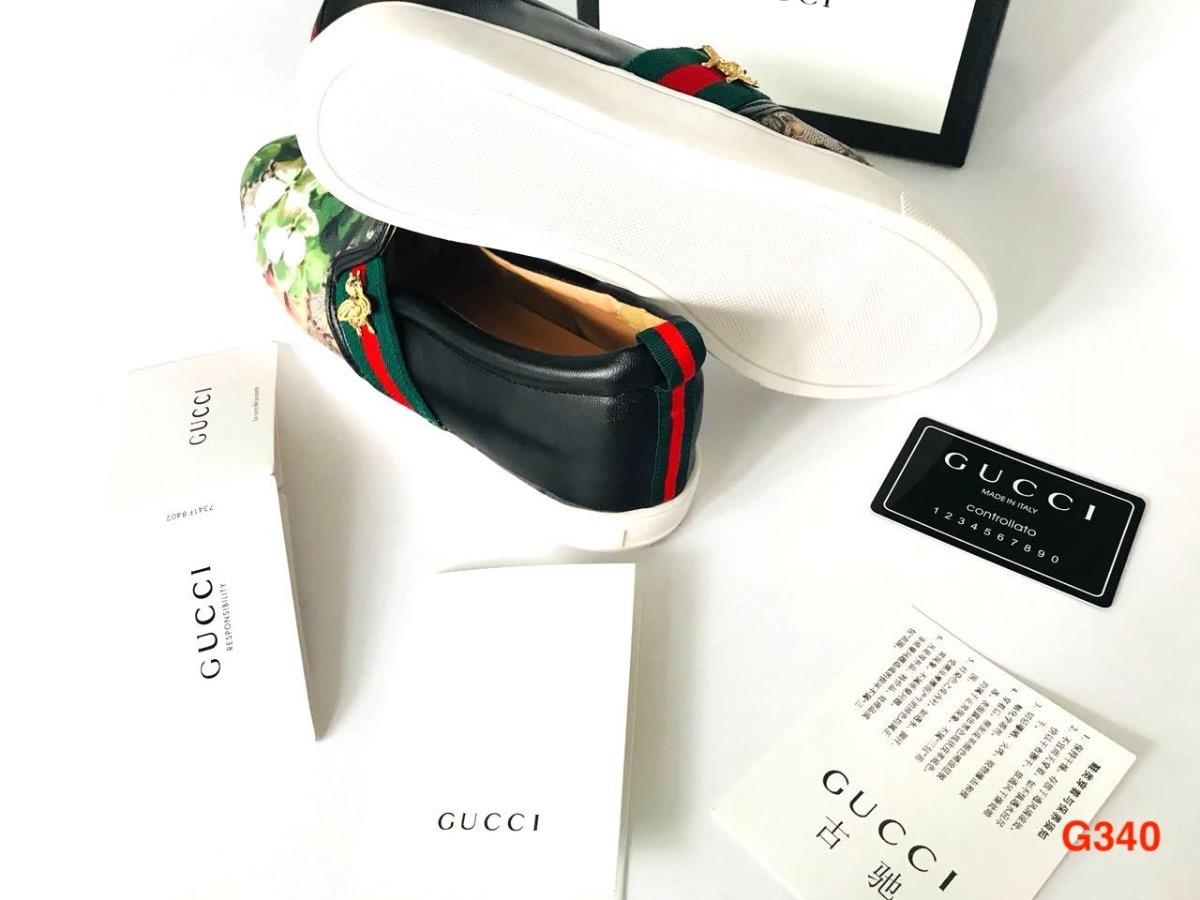 Flor Tenis O Serpiente Gucci Caja Louis Vuitton Lv Hermés ... 35db363798e