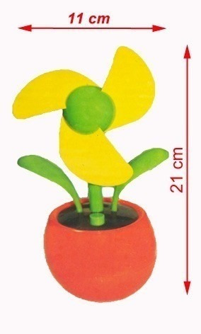 flor ventilador usb para computador pc e notebook nf