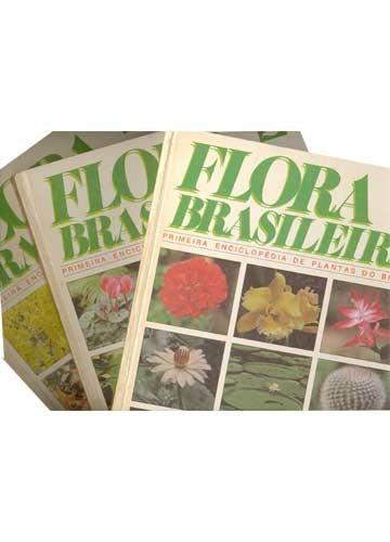 flora brasileira - 3 volumes
