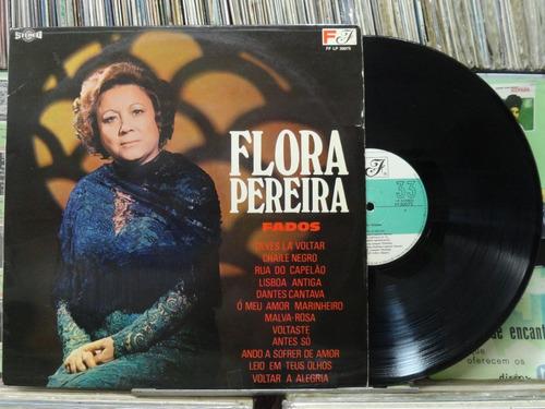 flora pereira chile negro fados lp importado portugal stéreo